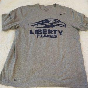 3481b77e Nike Shirts   Liberty University Drifit Shirt Size Medium   Poshmark
